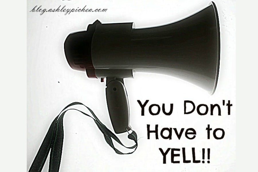 You Don't Have to YELL - learning to parent effectively without raising your voice needlessly