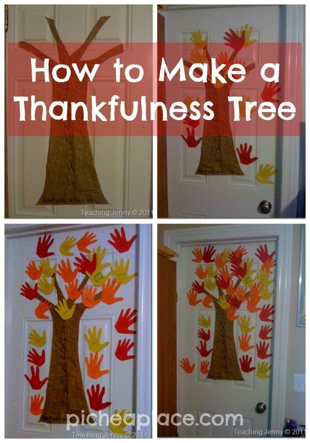 How to Make a Thankfulness Tree