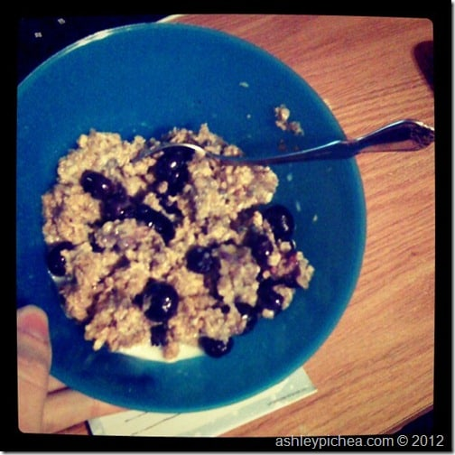 Blueberry Baked Oatmeal | easy meal idea for busy families