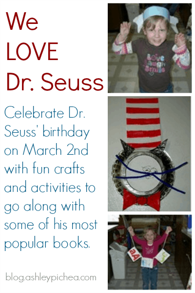 We Love Dr Seuss | Do you love Dr Seuss as much as we do? Be sure to check out this massive list of Dr Seuss activities for kids!