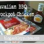 Hawaiian BBQ Crockpot Chicken