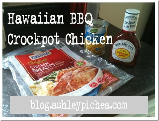 Hawaiian BBQ Chicken | easy meal idea for busy families