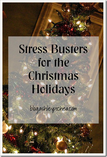 Stress Busters for the Christmas Holidays