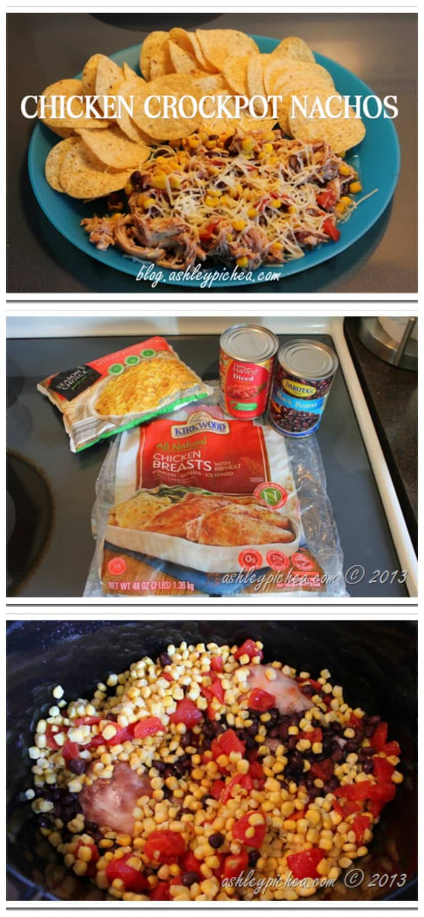 Chicken Crockpot Nacho Recipe
