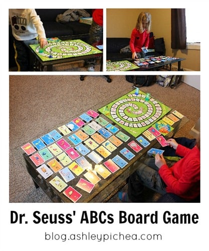 Dr. Seuss Board Game Fun