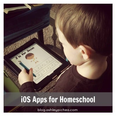 iOS apps for homeschool | ashleypichea.com