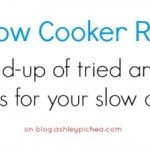 50+ Slow Cooker Recipes