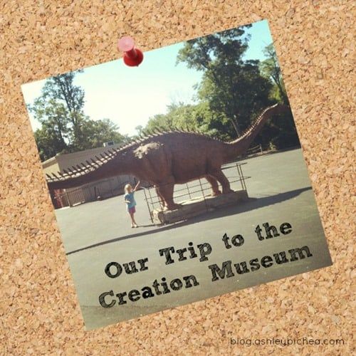 Dinosaurs and More… at the Creation Museum [K-Learners Link-up]