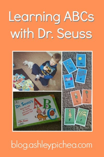 Learning ABCs with Dr. Seuss