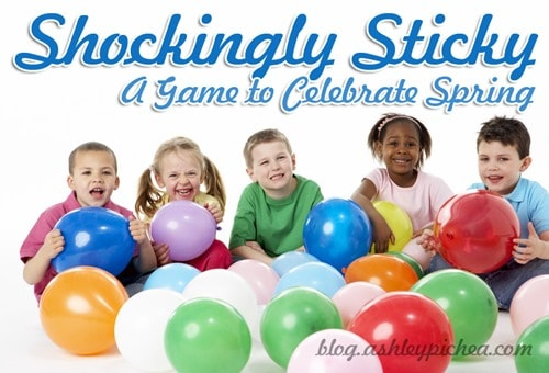 """Shockingly Sticky"" [A Game to Celebrate Spring]"