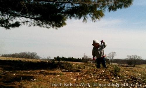 Teach Kids to Work | blog.ashleypichea.com