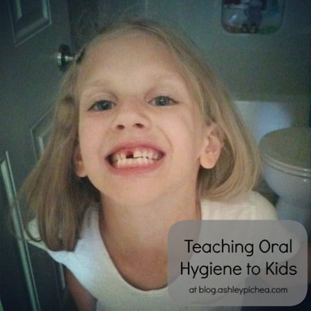 Teaching Oral Hygiene to Kids - Missing Tooth