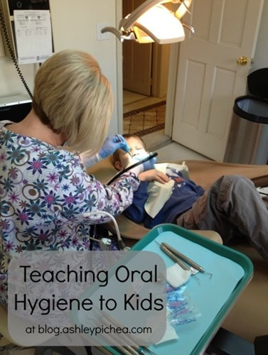 Teaching Oral Hygiene to Kids - Visiting the Dentist