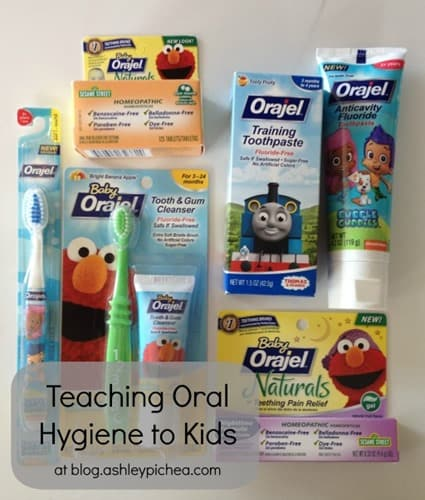 Teaching Oral Hygiene to Kids with Orajel