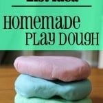 Summer Bucket List Idea: Homemade PlayDough
