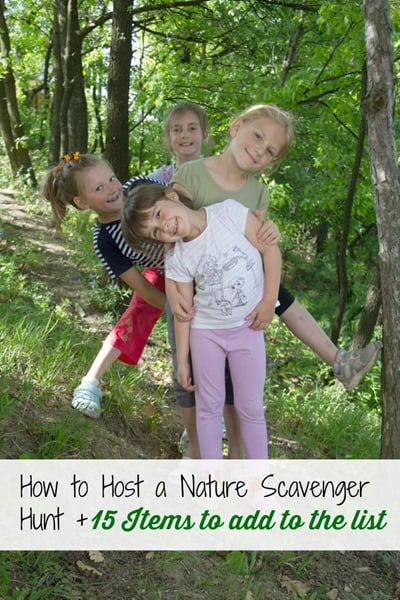 How to Host a Nature Scavenger Hunt | Summer Bucket List series on ashleypichea.com