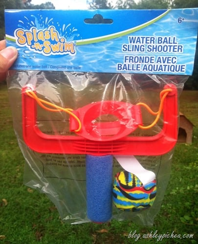 Beat the Heat - Water Slingshot Toy
