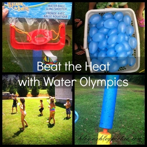 Beat the Heat with Water Olympics