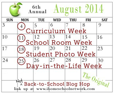 iHomeschool Network's Not Back to School Blog Hop 2014
