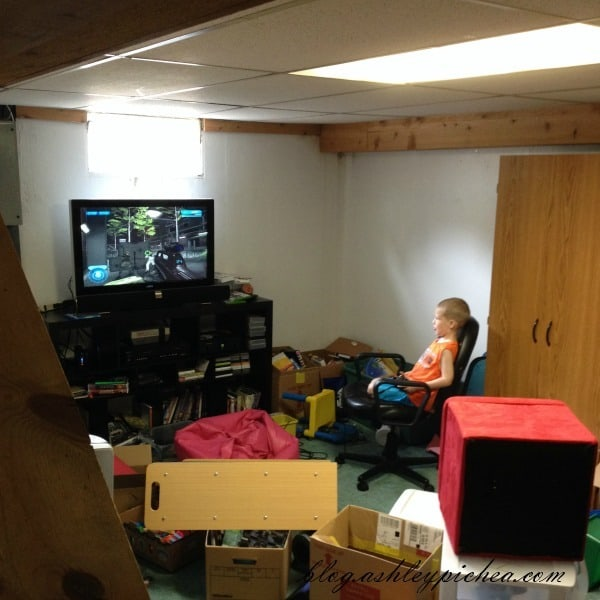 David Playing Video Games | A Day in the Life of a Work-at-Home, Homeschooling Mom