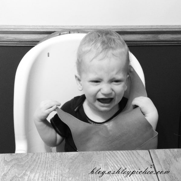 Toddler Throwing a Tantrum | A Day in the Life of a Work-at-Home, Homeschooling Mom