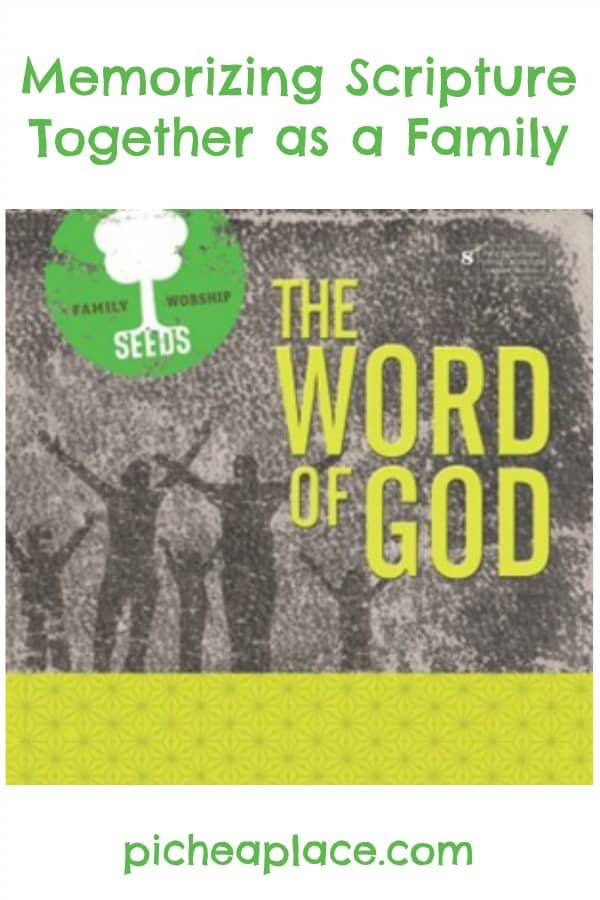 Memorizing Scripture Together as a Family