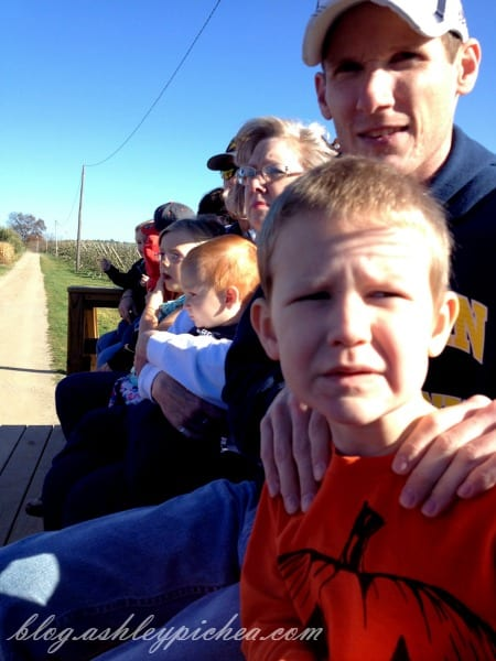 | visiting the apple orchard | fall family fun