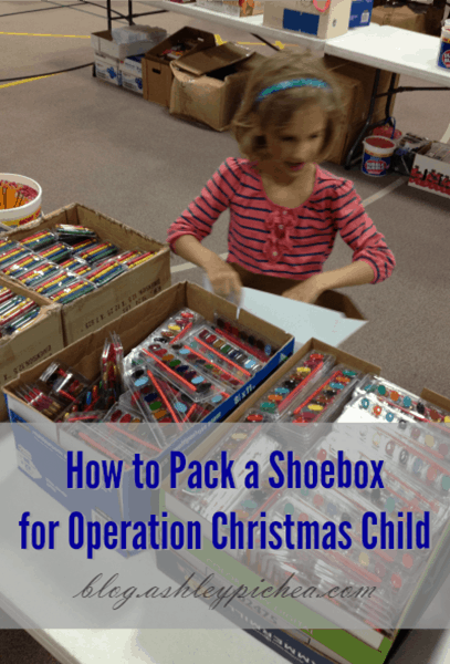 How to Pack a Shoebox for Operation Christmas Child
