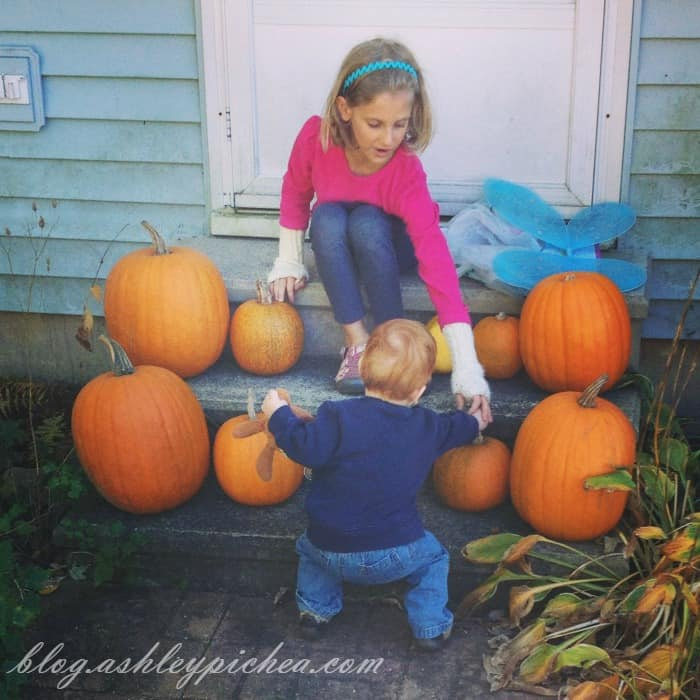 Pumpkin Carving with Kids - Jenny and Chris