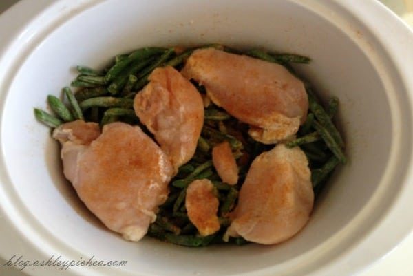 Slow Cooker Chicken and Biscuits with Green Beans Recipe