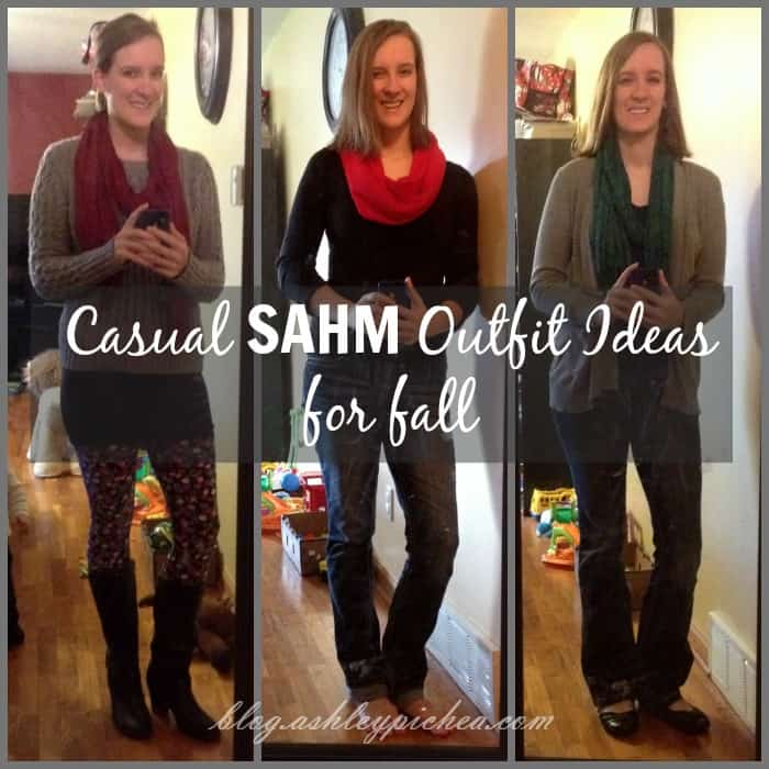 Casual SAHM Outfit Ideas for Fall
