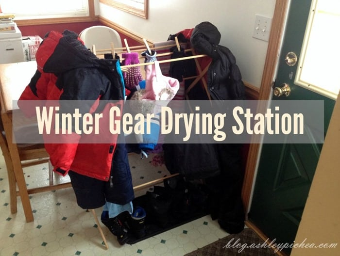 Winter Gear Drying Station