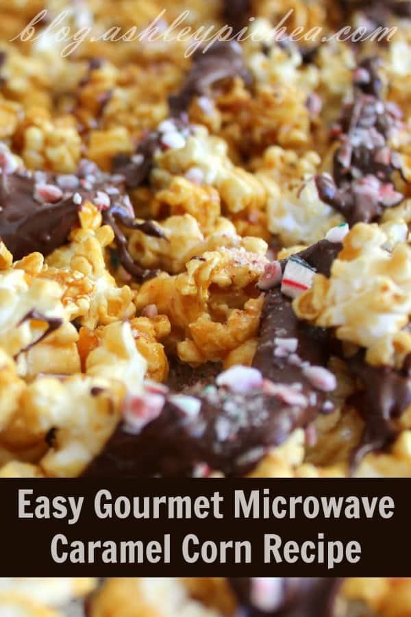 Easy Gourmet Microwave Caramel Corn Recipe