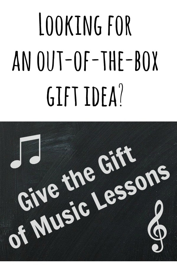 Giving the Gift of Music Lessons