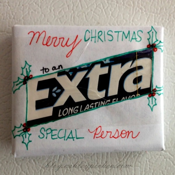 "Merry Christmas to an ""Extra"" Special Person"