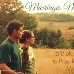 Bible Verses to Pray for Your Marriage