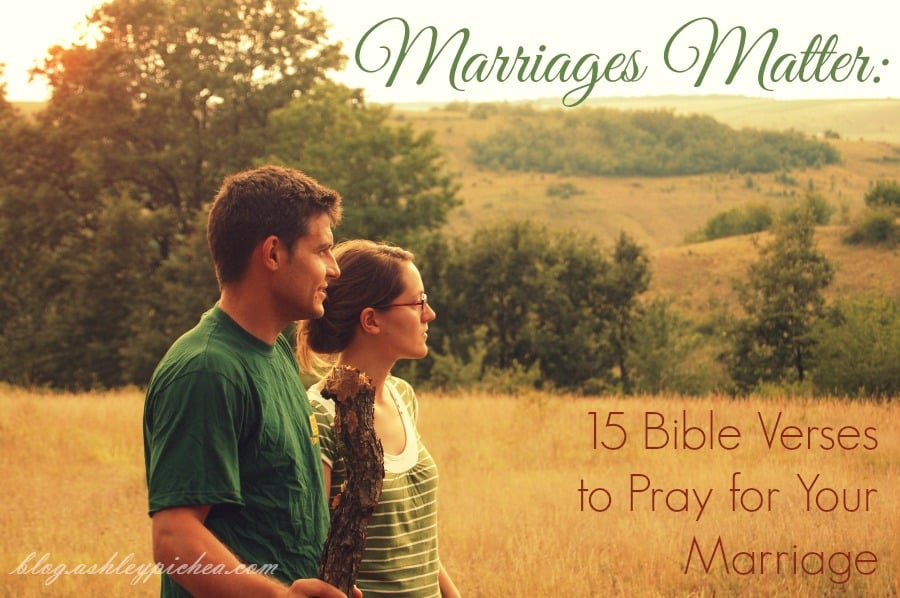 15 Bible Verses to Pray for Your Marriage