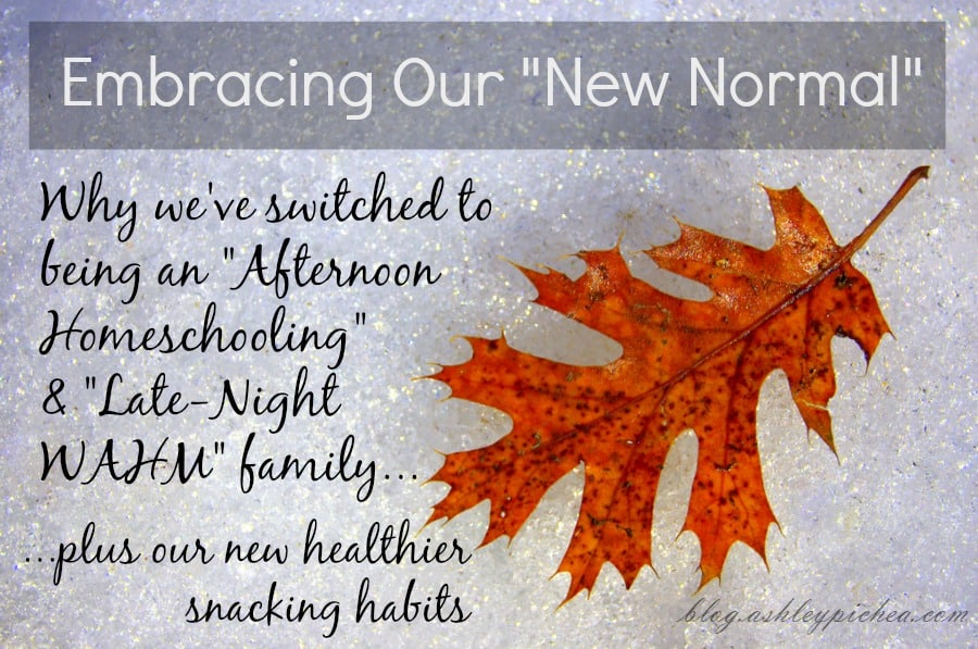"Embracing Our ""New Normal"" (Including Healthier Snacking)"