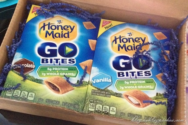 Honey Maid Go Bites