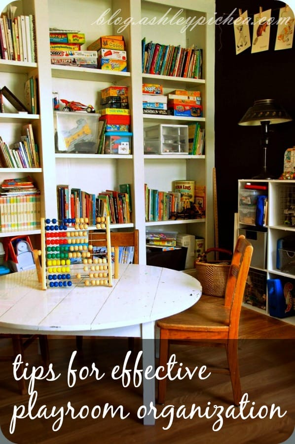Tips for Effective Playroom Organization