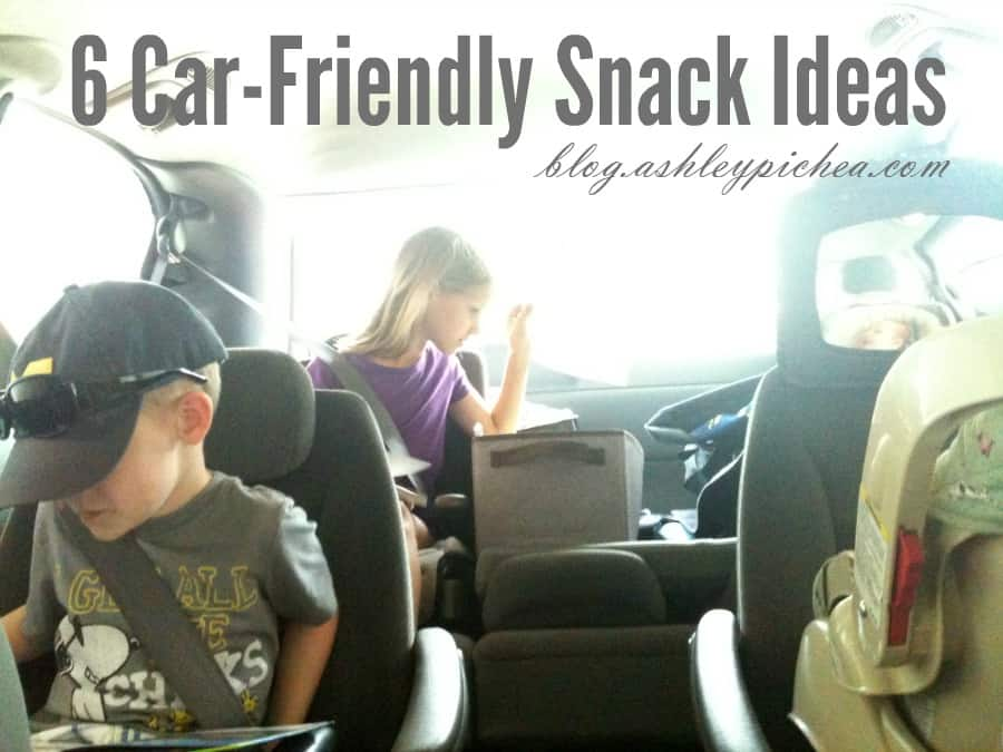6 Car-Friendly Snack Ideas