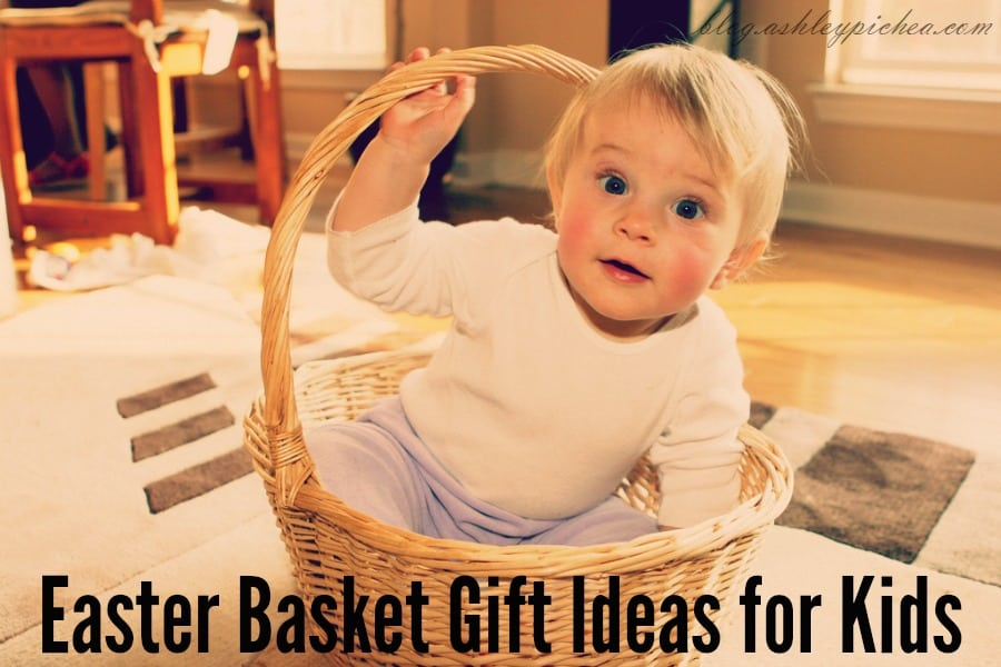 Non-Candy Easter Basket Gift Ideas for Kids