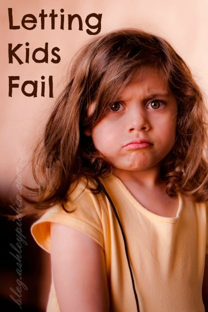 Letting Kids Fail