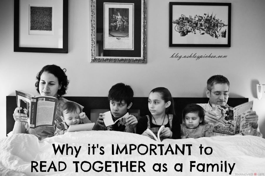 Why It's Important to READ Together as a Family