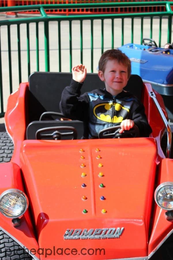 David at Cedar Point