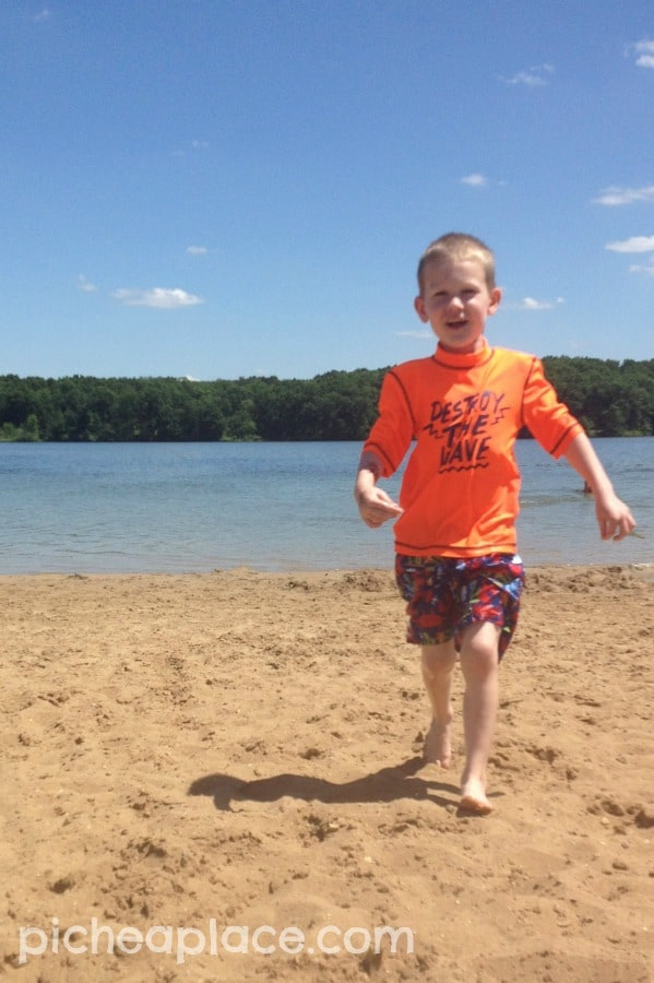 David at Fort Custer State Park
