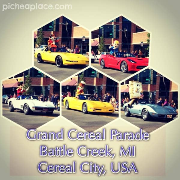 Grand Cereal Parade in Battle Creek Michigan