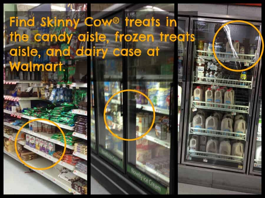 Skinny Cow® Treats at Walmart #skinnycowmoments #collectivebias #ad