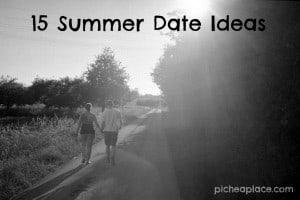 15 Summer Date Ideas | #marriagesmatter