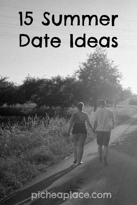 15 Summer Date Ideas | #marriagesmatter
